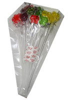 Long Stick Butterfly Lollipops and more Confectionery at The Professors Online Lolly Shop. (Image Number :6947)