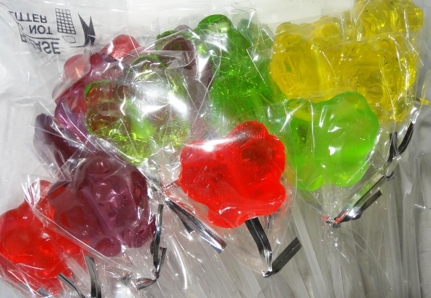 Long Stick Butterfly Lollipops and more Confectionery at The Professors Online Lolly Shop. (Image Number :6948)