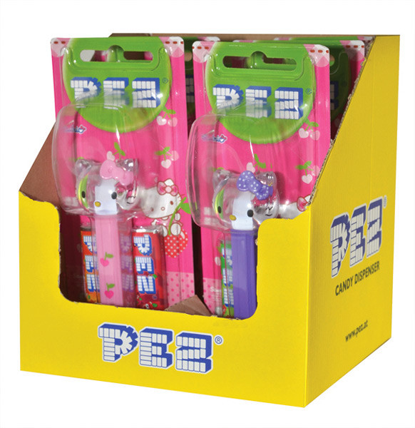 Pez Candy Dispensers - Hello Kitty, by Pez,  and more Confectionery at The Professors Online Lolly Shop. (Image Number :6967)
