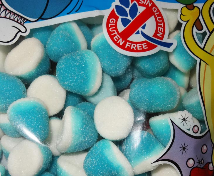 Damel Blue Raspberry Pufflettes, by Damel,  and more Confectionery at The Professors Online Lolly Shop. (Image Number :8039)