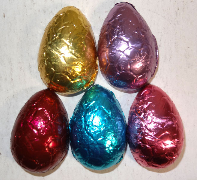 Chocolate Gems - Chocolate Half Eggs, by Chocolate Gems,  and more Confectionery at The Professors Online Lolly Shop. (Image Number :7082)