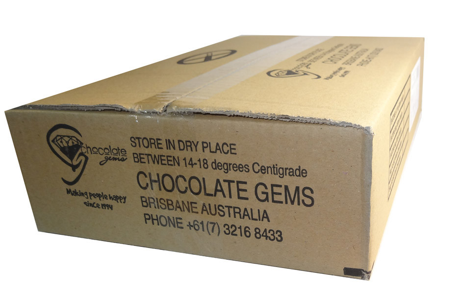 Chocolate Gems - Chocolate Half Eggs Burgundy Mix, by Chocolate Gems,  and more Confectionery at The Professors Online Lolly Shop. (Image Number :7083)