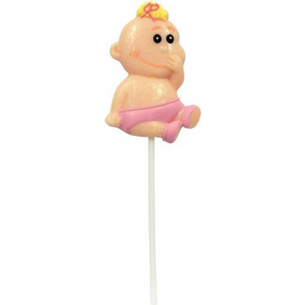 It s a Girl / Boy Lollipop + Card, by Lolly Mania/Other,  and more Confectionery at The Professors Online Lolly Shop. (Image Number :6993)