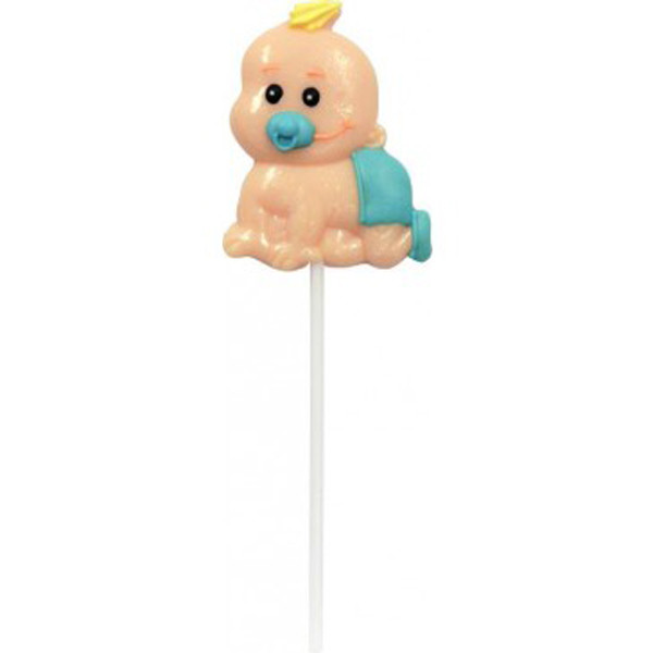 It s a Girl / Boy Lollipop + Card, by Lolly Mania/Other,  and more Confectionery at The Professors Online Lolly Shop. (Image Number :6994)