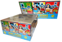 DC Comics Candy Sticks, by The Great Character Candy Company,  and more Confectionery at The Professors Online Lolly Shop. (Image Number :7017)