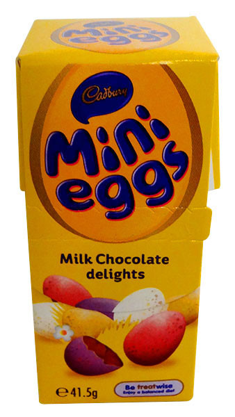 Cadbury Mini Eggs, by Cadbury,  and more Confectionery at The Professors Online Lolly Shop. (Image Number :13204)