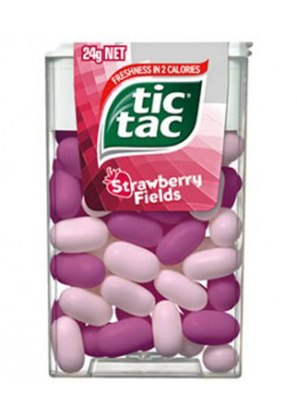 Tic Tac - Strawberry Fields, by Ferrero,  and more Confectionery at The Professors Online Lolly Shop. (Image Number :7049)