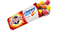 Eclipse Chewy Mint - Fruit Trio, by Wrigley,  and more Confectionery at The Professors Online Lolly Shop. (Image Number :7060)