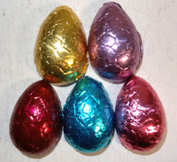 Chocolate Gems - Chocolate Half Eggs Burgandy Mix, by Chocolate Gems,  and more Confectionery at The Professors Online Lolly Shop. (Image Number :7423)