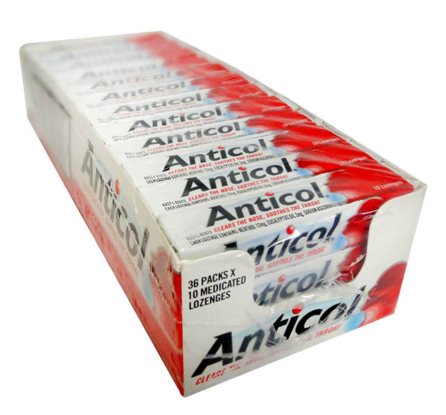 Allens Anticol, by Allens Confectionery,  and more Confectionery at The Professors Online Lolly Shop. (Image Number :11226)