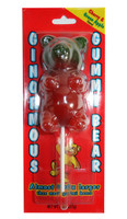 Ginormous Gummi Bear Lollipops and more Confectionery at The Professors Online Lolly Shop. (Image Number :7198)