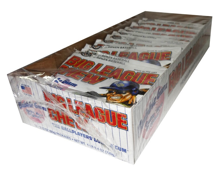 Big League Chew - Original and more Confectionery at The Professors Online Lolly Shop. (Image Number :7199)