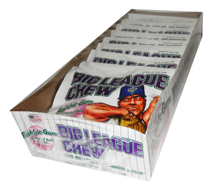 Big League Chew - Grape and more Confectionery at The Professors Online Lolly Shop. (Image Number :7200)