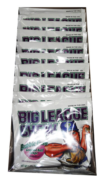 Big League Chew - Grape and more Confectionery at The Professors Online Lolly Shop. (Image Number :7201)