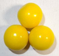 Gumballs - Yellow, by Oak Leaf Confections,  and more Confectionery at The Professors Online Lolly Shop. (Image Number :7379)