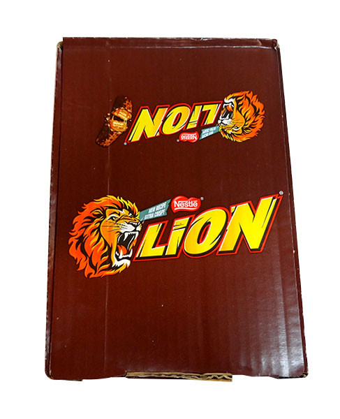 Lion Bars, by Nestle,  and more Confectionery at The Professors Online Lolly Shop. (Image Number :10171)