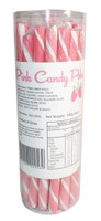 Candy Poles Jar - Pink, by Brisbane Bulk Supplies,  and more Confectionery at The Professors Online Lolly Shop. (Image Number :7330)
