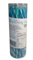 Candy Poles Jar - Blue, by Brisbane Bulk Supplies,  and more Confectionery at The Professors Online Lolly Shop. (Image Number :7358)