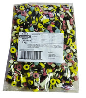Mini Liquorice Allsorts and more Confectionery at The Professors Online Lolly Shop. (Image Number :7491)