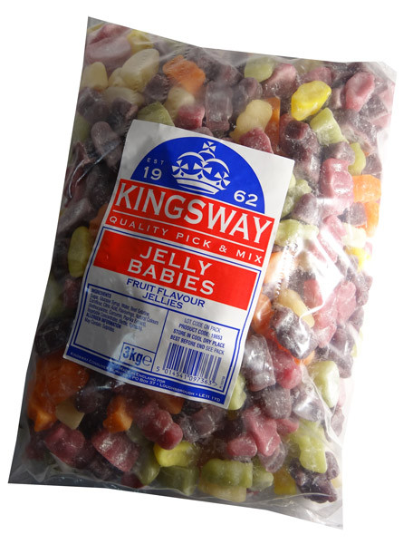 English Dusted Jelly Babies and more Confectionery at The Professors Online Lolly Shop. (Image Number :7439)