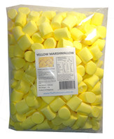 Sweet Treats Marshmallows - Yellow, by Brisbane Bulk Supplies,  and more Confectionery at The Professors Online Lolly Shop. (Image Number :7831)