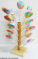 Wooden Lollipop Tree - Large and more Partyware at The Professors Online Lolly Shop. (Image Number :10044)