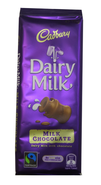Cadbury Dairy Milk Block, by Cadbury,  and more Confectionery at The Professors Online Lolly Shop. (Image Number :8607)