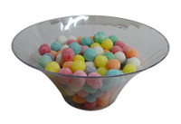 Clear Plastic Candy Buffet Flared Bowl - Medium and more Partyware at The Professors Online Lolly Shop. (Image Number :10194)