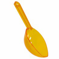 Plastic Lolly Scoop - Sunshine Yellow and more Partyware at The Professors Online Lolly Shop. (Image Number :8084)