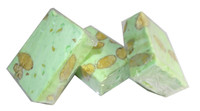 Almond Nougat - Pastel Green, by ABW Foods,  and more Confectionery at The Professors Online Lolly Shop. (Image Number :7617)