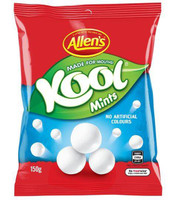 Kool Mints, by Allens Confectionery,  and more Confectionery at The Professors Online Lolly Shop. (Image Number :9269)