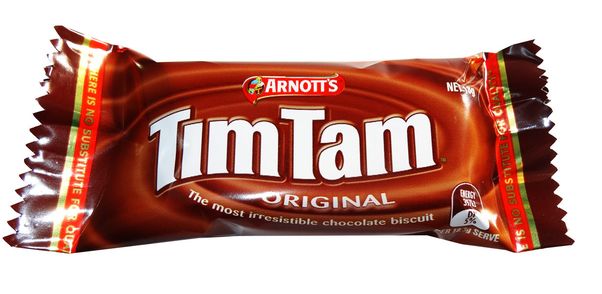 Arnotts Tim Tam Minis, by Arnotts,  and more Snack Foods at The Professors Online Lolly Shop. (Image Number :7687)