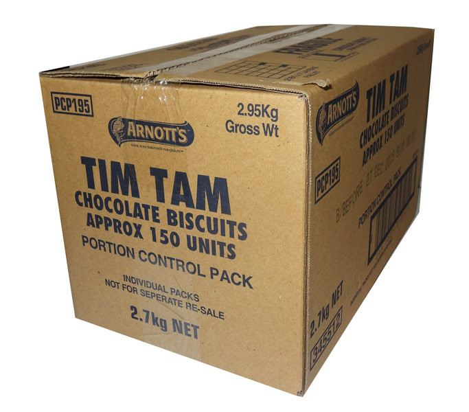 Arnotts Tim Tam Minis, by Arnotts,  and more Snack Foods at The Professors Online Lolly Shop. (Image Number :7688)