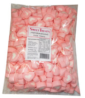 Sweet Treats Heart Shaped Marshmallows - Batch Issues - Pink and White, by Brisbane Bulk Supplies,  and more Confectionery at The Professors Online Lolly Shop. (Image Number :8205)