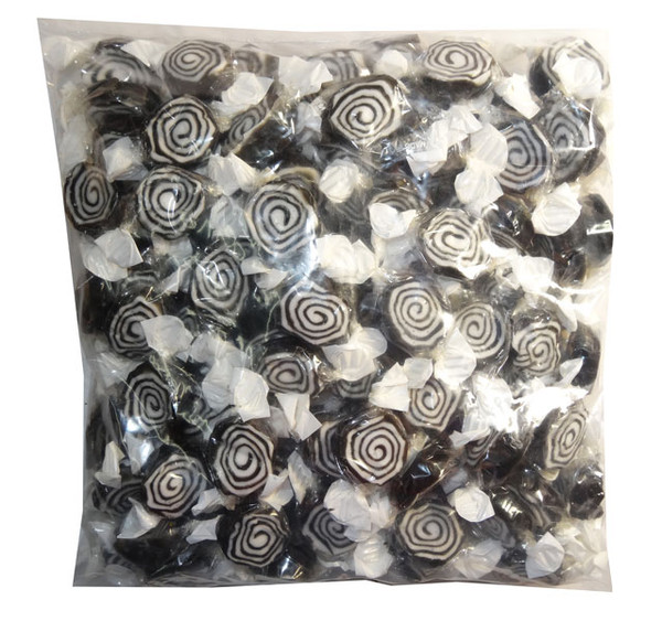 Licorice Whirls and more Confectionery at The Professors Online Lolly Shop. (Image Number :7918)