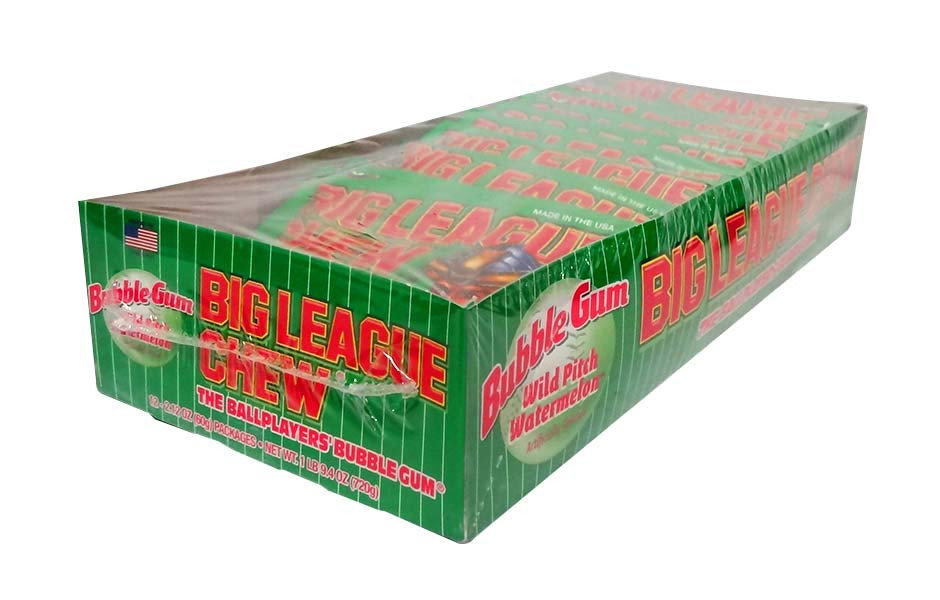 Big League Chew - Watermelon and more Confectionery at The Professors Online Lolly Shop. (Image Number :10377)