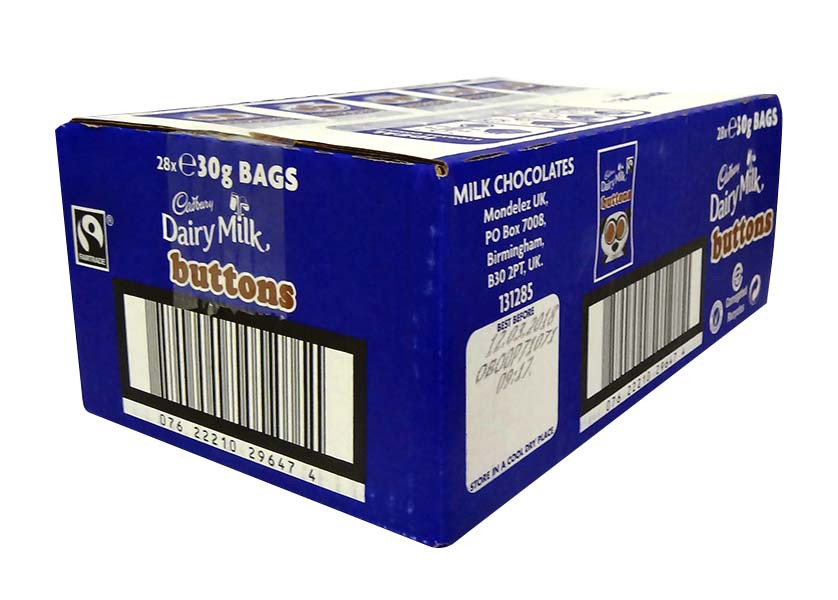 Cadbury Dairy Milk Buttons, by Cadbury,  and more Confectionery at The Professors Online Lolly Shop. (Image Number :10384)