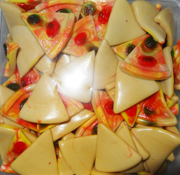 Damel Gummy Pizzas, by Damel,  and more Confectionery at The Professors Online Lolly Shop. (Image Number :8109)
