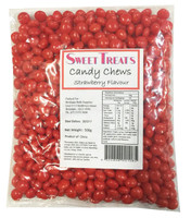 Sweet Treats Candy Chews - Red, by Brisbane Bulk Supplies,  and more Confectionery at The Professors Online Lolly Shop. (Image Number :8137)