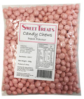 Sweet Treats Candy Chews - Pink, by Brisbane Bulk Supplies,  and more Confectionery at The Professors Online Lolly Shop. (Image Number :8135)