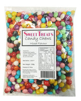 Sweet Treats Candy Chews - Mixed Colours, by Brisbane Bulk Supplies,  and more Confectionery at The Professors Online Lolly Shop. (Image Number :8131)