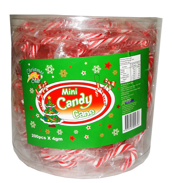 Mini Candy Canes and more Confectionery at The Professors Online Lolly Shop. (Image Number :8118)