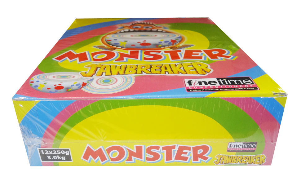Monster Boulder Jawbreakers and more Confectionery at The Professors Online Lolly Shop. (Image Number :8677)