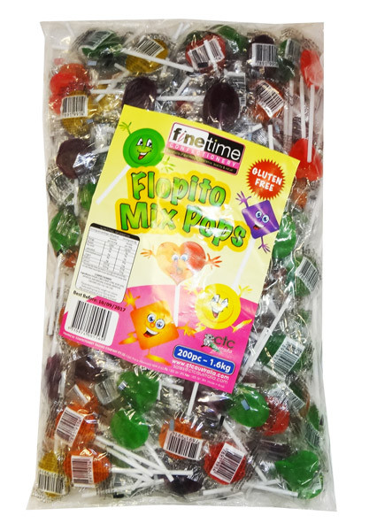 Flopito Mix Pops and more Confectionery at The Professors Online Lolly Shop. (Image Number :8186)