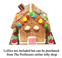 Gingerbread House Kit and more Snack Foods at The Professors Online Lolly Shop. (Image Number :8092)