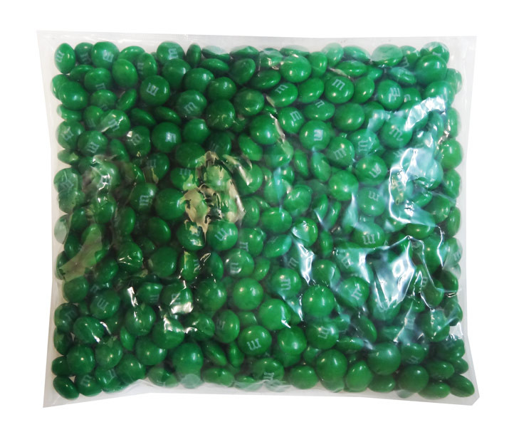 Single Colour M&M s - Dark Green, by Mars,  and more Confectionery at The Professors Online Lolly Shop. (Image Number :8265)