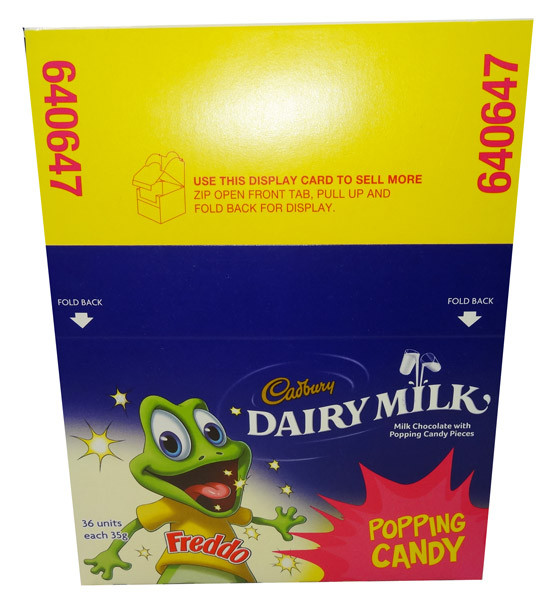 Cadbury Freddo Frog Giant Popping Candy, by Cadbury,  and more Confectionery at The Professors Online Lolly Shop. (Image Number :8212)