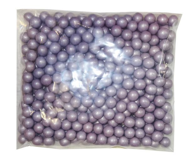 Shimmer Choc Balls - Purple, by Confectionery House,  and more Confectionery at The Professors Online Lolly Shop. (Image Number :8185)