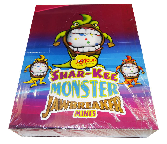 Joo Joos Shar-Kee Monster Jawbreakers - Mini and more Confectionery at The Professors Online Lolly Shop. (Image Number :8230)