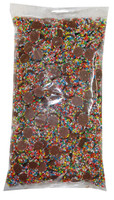 Mini Choc Sparkles - Multicolour, by Universal Candy,  and more Confectionery at The Professors Online Lolly Shop. (Image Number :8314)